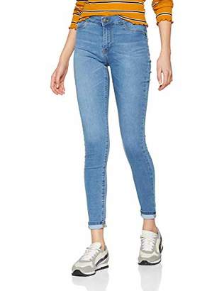 JDY Women's JDYELLA Jegging RW DNM NOOS Skinny Jeans, Medium Blue Denim