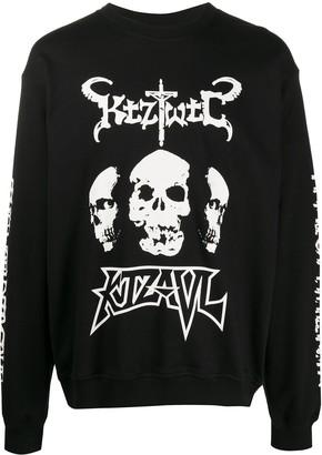 Kokon To Zai TWTC Skull crew neck sweatshirt