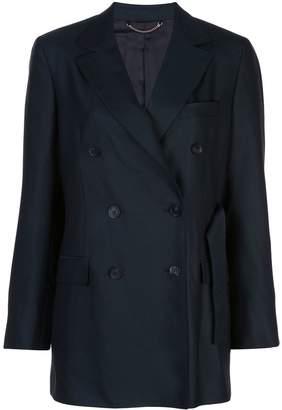 Salvatore Ferragamo double-breasted belted blazer