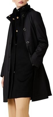 Jane Post Two-Piece Wool Double Coat