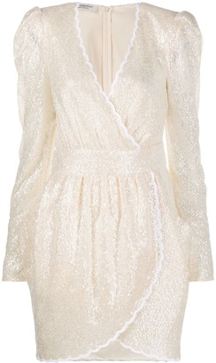 Philosophy di Lorenzo Serafini Long-Sleeve Mini Dress