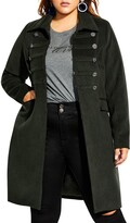 City Chic Simply Fierce Coat