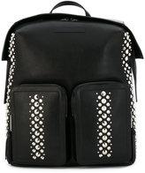 Jimmy Choo 'Lennox' studded backpack - men - Lamb Skin/metal - One Size