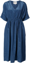 Sea V-neck mid-length blouse - women - Viscose/Polyester - 4