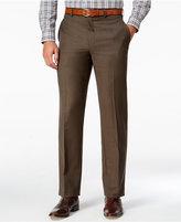 Lauren Ralph Lauren Men's Classic-Fit Olive Neat Wool Dress Pants