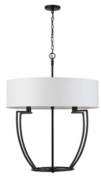 Jamison Wrought Studio 6 - Light Candle Style Drum Chandelier Wrought Studio