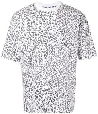 Giorgio Armani logo print T-shirt