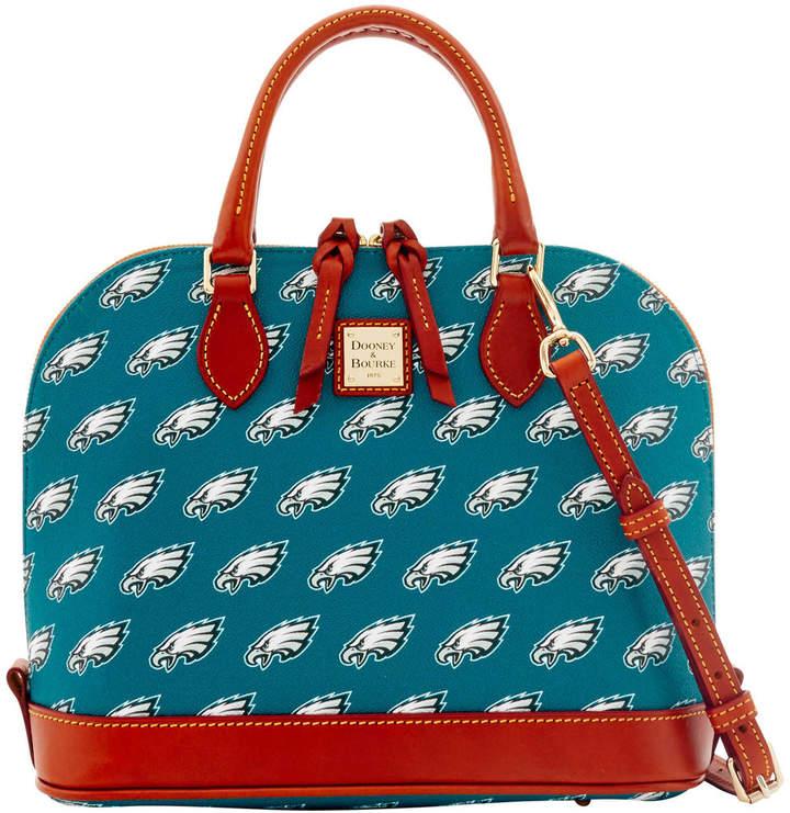 Dooney & Bourke NFL Eagles Zip Zip Satchel