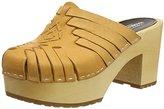 Swedish Hasbeens Women's Huarache Slip in Platform Sandal