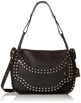 Frye Nikki Nail Head Flap Cross Body Bag