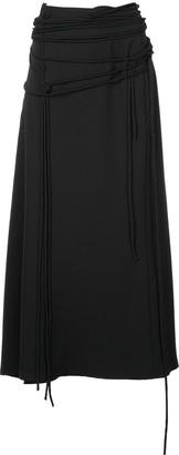 Yohji Yamamoto Strap High Waist Skirt