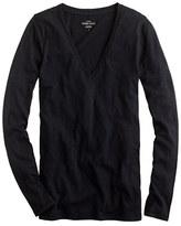 J.Crew Vintage cotton long-sleeve V-neck T-shirt