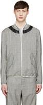 Oamc Grey Glen Plaid Jacket