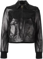 RED Valentino back patches jacket - women - Cotton/Polyamide/Spandex/Elastane/Viscose - 38