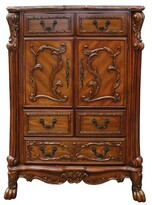Dileo 5 Drawer Combo Dresser Astoria Grand Color: Cherry Oak