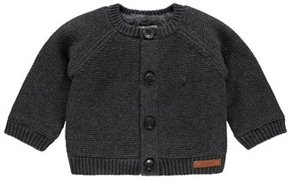 Noppies U Cardigan Knit ls Dani Dark Grey Melange Newborn