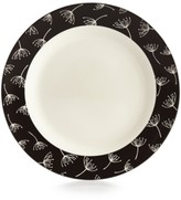 Lenox Around The Table Collection Stoneware Wish Black Dinner Plate
