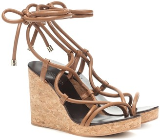 Jimmy Choo Allis 95 wedge sandals
