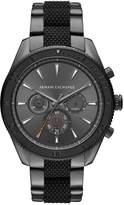 Armani Exchange Chronograph watch grau/schwarz