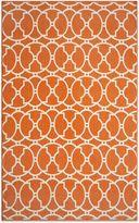 Momeni Baja Indoor/Outdoor Rug in Orange