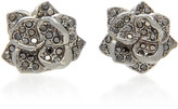 Colette Jewelry 18K Black Gold and Diamond Earrings