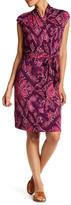 Tommy Bahama Flora Cap Sleeve Print Dress