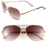 Kate Spade 'avaline' 58mm Aviator Sunglasses