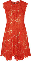 Catherine Deane Elina guipure lace mini dress