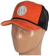 Nixon NXN Cord Trucker Hat (Orange) - Hats