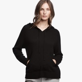 James Perse Cashmere Pocket Hoodie