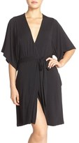 Women's Barefoot Dreams 'Luxe' Milk Jersey Robe