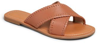 Jack Rogers Sloane Flat Crisscross Slide Sandals