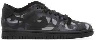 Comme des Garçons Homme Plus Black Nike Edition Dunk Low Sneakers