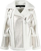 Nicole Benisti Montaigne shearling-trimmed jacket