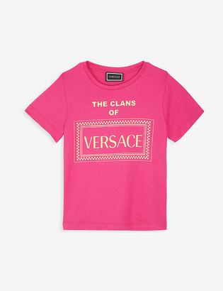 Versace Clans of cotton T-shirt 4-14 years