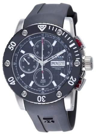 Edox Men's 01107 TIN NIN Chronograph Automatic Class-1 Watch