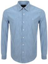 G Star Raw Slim Core Shirt Blue