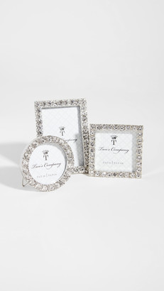 Shopbop @Home Set of 3 Diamonte Picture Frame