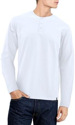 X-Ray Long Sleeve Henley Shirt