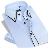 Dreamtao Men'S Short-Sleeved Shirt Summer Business Casual Men'S Dress Shirts