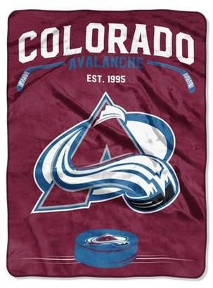 Northwest Company The NHL Colorado Avalanche Inspired Raschel Throw