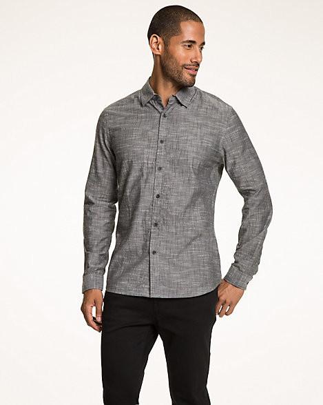 Le Château Slub Cotton Tailored Fit Shirt