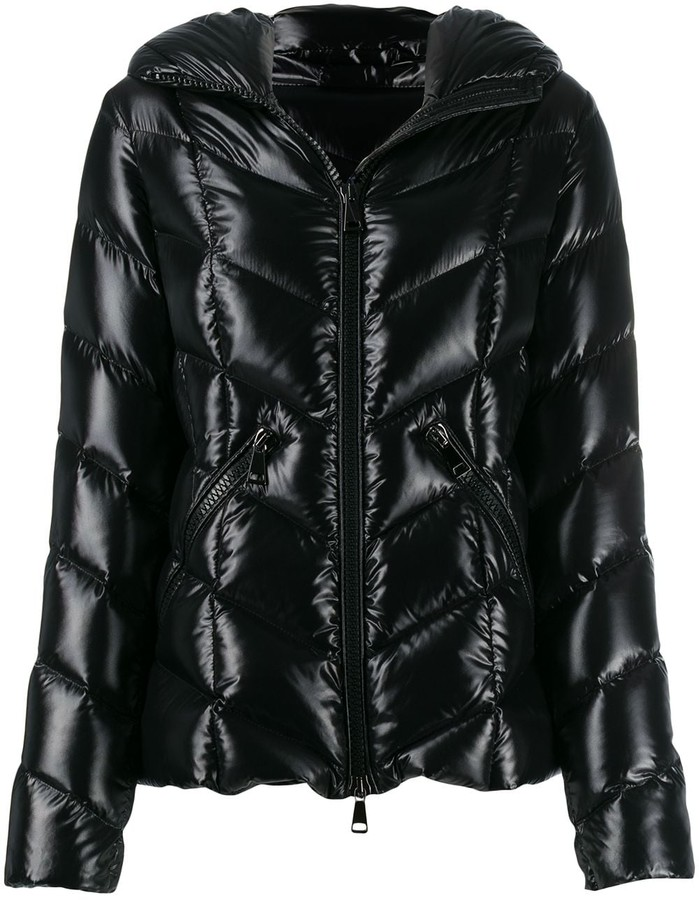 e5d835328 feather down hooded jacket