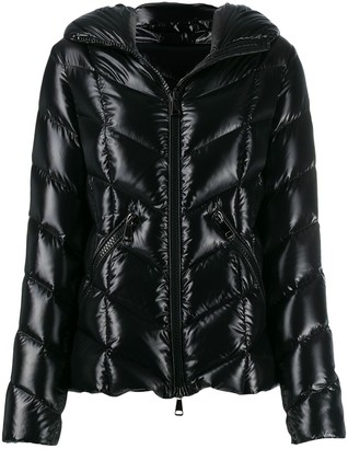Moncler feather down hooded jacket