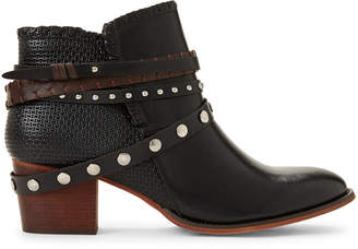Gc Shoes Black Bliss Strappy Ankle Booties