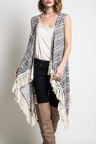 Umgee USA Long Fringed Kimono
