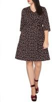 Dorothy Perkins Plus Size Women's Floral Wrap Dress