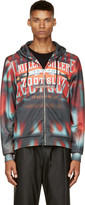 Juun.J Red & Orange Killer Diller Zip-Up Hoodie