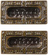 Rejuvenation Pair of NOS Victorian Sash Lifts by Corbin c1880s