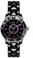 Christian Dior VIII Amethyst & Black Ceramic Automatic Bracelet Watch